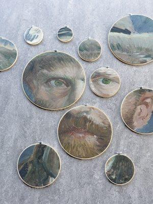 Zelfportret Vincent van Gogh XI