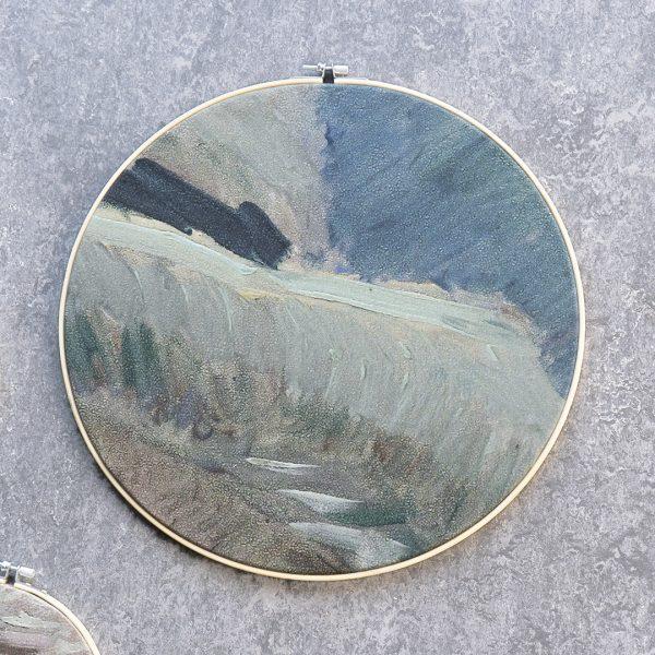 Detail hoed van het zelfportret